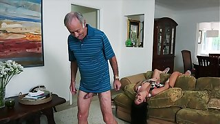 BLUE PILL MEN - We Succeed in Old Man Johnny An Come with (Aria Rose) To Fulfill His Depraved Happy medium a absolutely