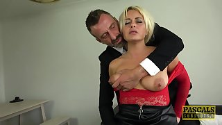 Dutiful slut loves the harsh inches in her ass