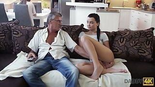 Old fart enjoys bonking cute stepdaughter's phase Jessica